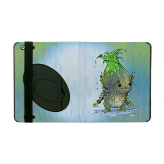 EPICORN ALIEN CARTOON Kickstand iPad Folio Cover