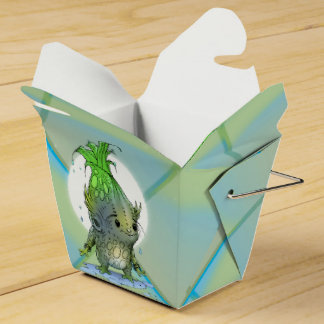 EPICORN ALIEN CARTOON Take Out Favor Box