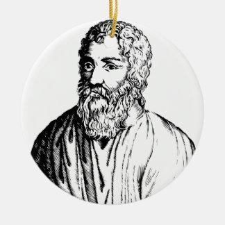 Epicurus Ceramic Ornament
