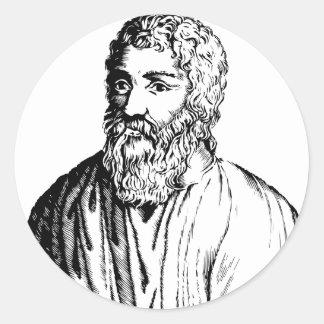 Epicurus Classic Round Sticker