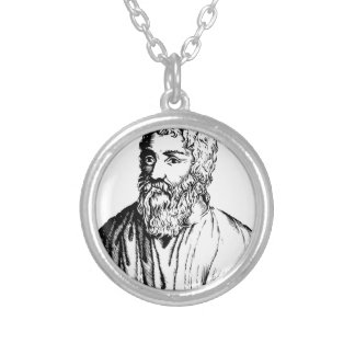 Epicurus Silver Plated Necklace