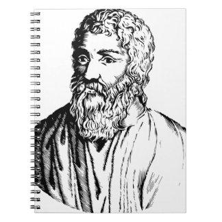 Epicurus Spiral Notebook
