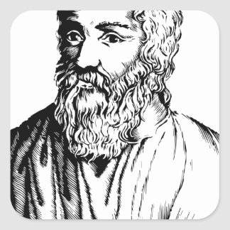 Epicurus Square Sticker