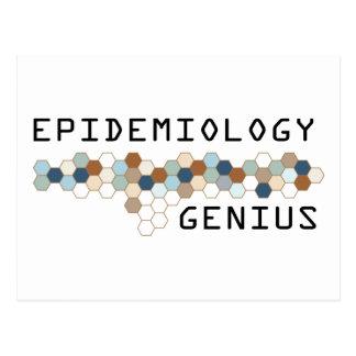 Epidemiology Genius Post Cards