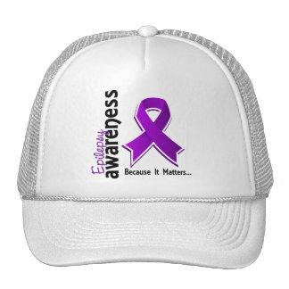 Epilepsy Awareness 5 Mesh Hats