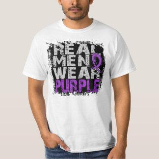 Epilepsy Real Men Wear Purple T Shirts