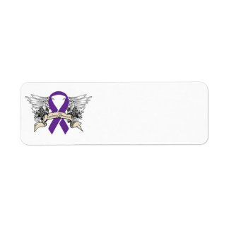 Epilepsy Return Address Label