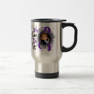 Epilepsy Rosie Cartoon WCDI.png Stainless Steel Travel Mug