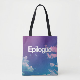 Epilogue clouds tote bag
