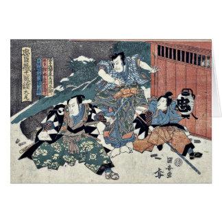 Epilogue of the Chushingura by Utagawa, Kuniyasu Card