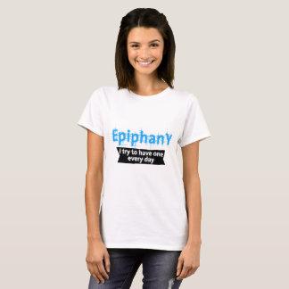 Epiphany - Blue + K trans. vers. T-Shirt