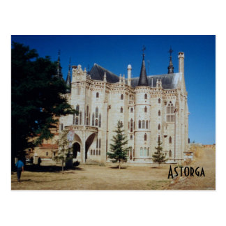 Episcopal Palace - Astorga Postcard