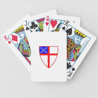 Episcopal Shield Bicycle Playing Cards