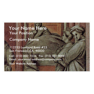 Episode From The Life Of The Hospital Detail By Po Pack Of Standard Business Cards