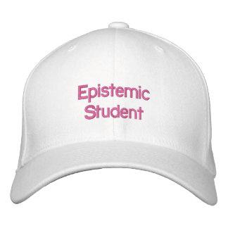 Epistemic Student Hat Embroidered Baseball Cap