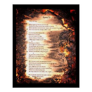 Epistle I Poster