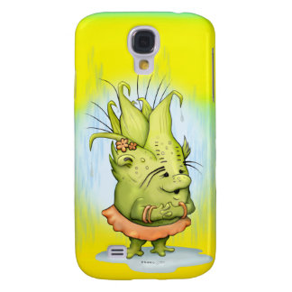 EPIZELE CUTE ALIEN CARTOON Samsung Galaxy  4 Galaxy S4 Case