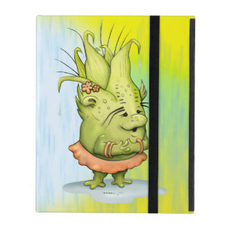 Epizelle ALIEN CARTOON iPad 2/3/4 iPad Folio Case