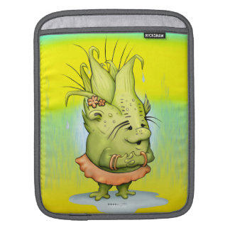EPIZELLE ALIEN CARTOON iPad Sleeves For iPads