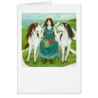 Epona Greeting Card