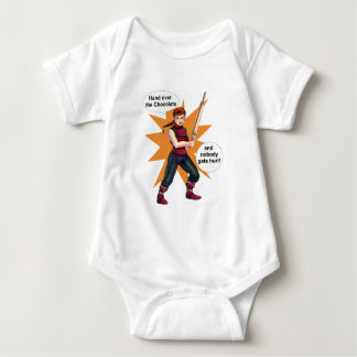 EQTC Chocolate Baby Bodysuit