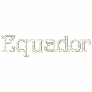 EQUADOR Patriotic Embroidered Designer Shirt