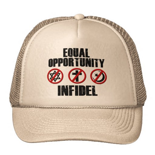 Equal Opportunity Infidel Trucker Hats