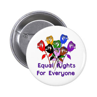 Equal Rights 6 Cm Round Badge