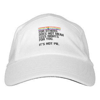 Equal rights for others does not mean less rights  hat