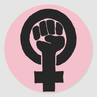 Equal Rights for Women Classic Round Sticker