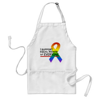 Equal Rights Supporter apron - choose style, color