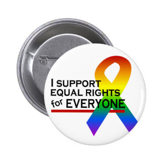 Equal Rights Supporter button