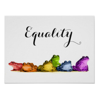 Equality 16X12 Poster
