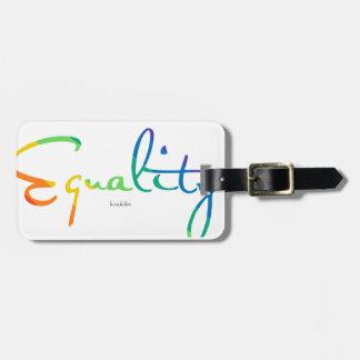 Equality Bag Tag