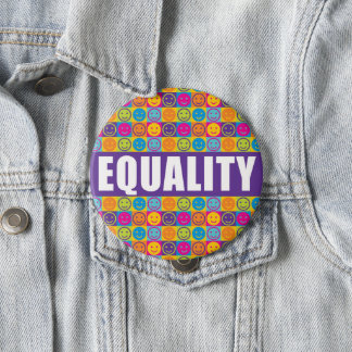 EQUALITY Diversity Human Rights Button