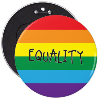 Equality for all 6 cm round badge