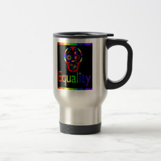 Equality for everyone - Even the dead Travel Mug
