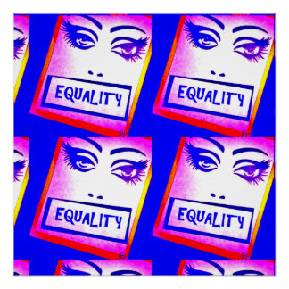 Equality Poster (equal rights)