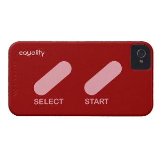 "Equality ""select start"" gay rights iPhone 4 case"