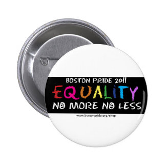 Equality Standard 6 Cm Round Badge
