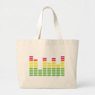 Equalizer Audio Sound Canvas Bags