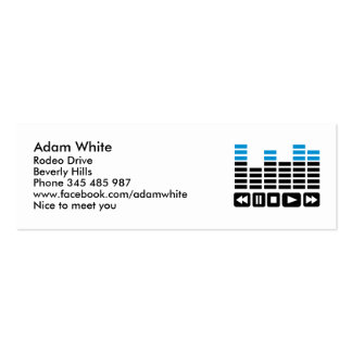 Equalizer Business Card Template