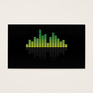 Equalizer - Green Business Card