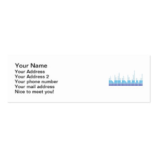 Equalizer music business card