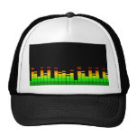 Equalizer Vibes from the Beat of DJ Music decor Cap