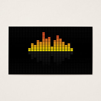 Equalizer - Yellow Business Card