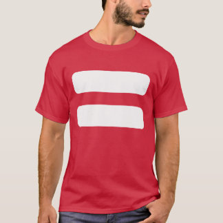 Equals Signs Icon T-Shirt