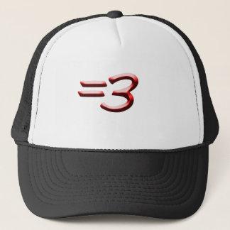 Equals Three Hat