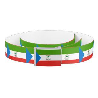 Equatorial Guinea Flag Belt