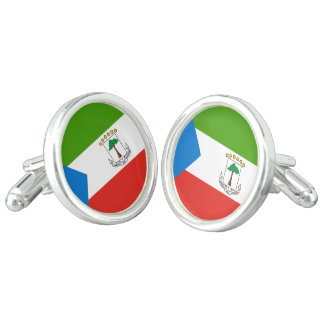 Equatorial Guinea Flag Cufflinks